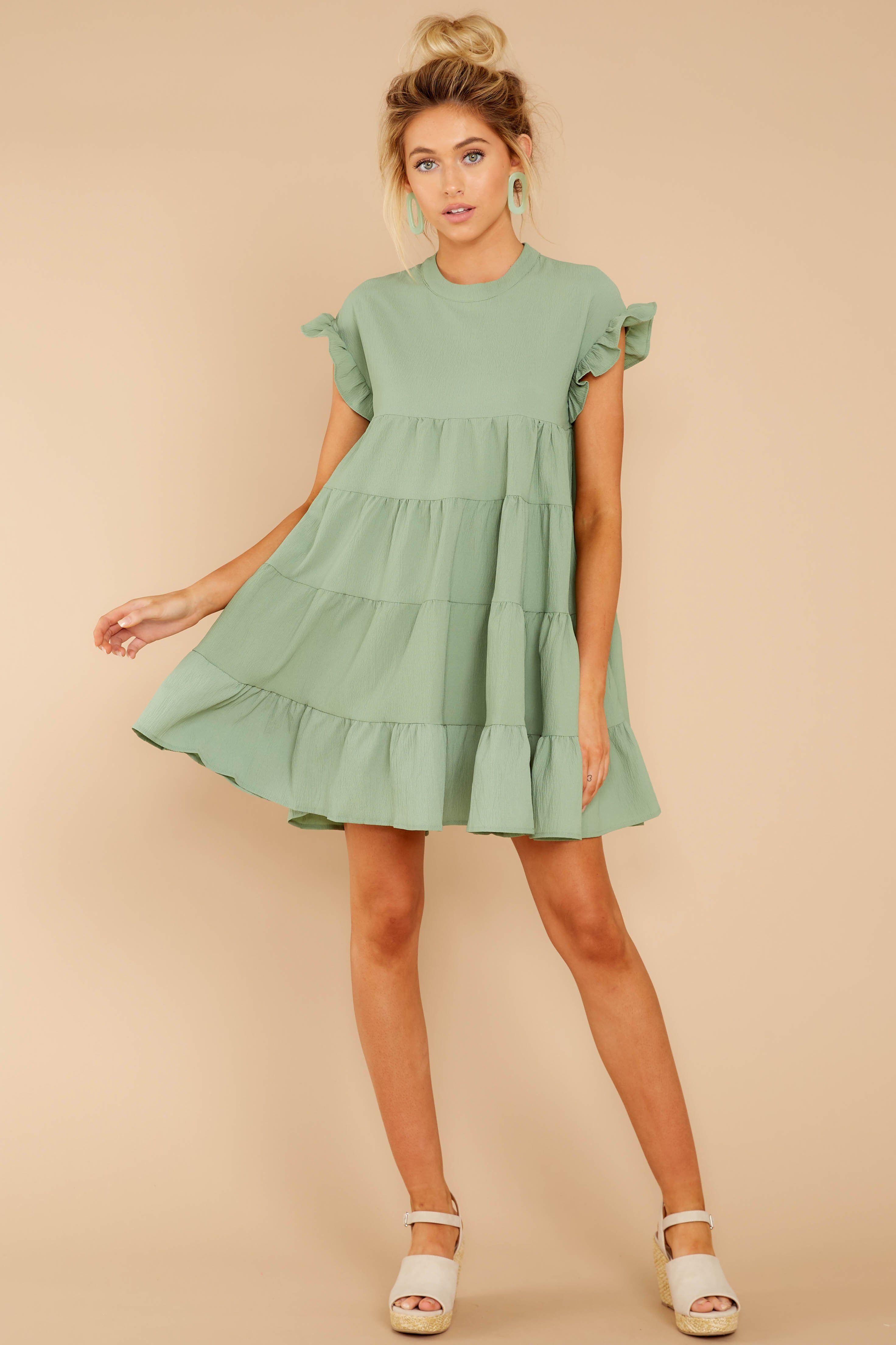 Adorable Green Shift Dress Short Sleeve Babydoll Dress Dress 44 Red Dress Dresses Flowy Dress Short Shift Dress [ 4416 x 2944 Pixel ]
