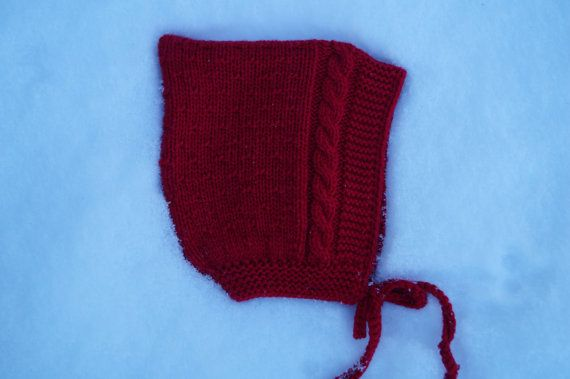 Süße traditionellen Stil Baby elf Hut. Schöne Mütze aus sehr weichem ...