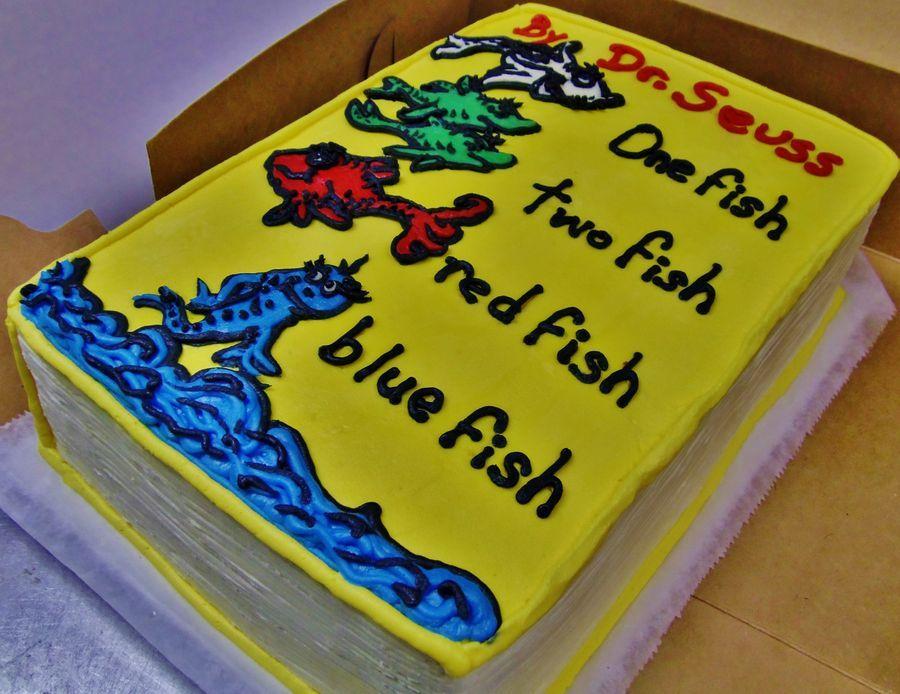 Dr Seuss Birthday Cake Seuss Cakes Dr Seuss Cake Book Cakes