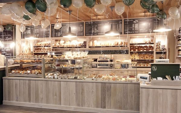 Mosfilmovskaya Bakery  Moscow is part of Bakery interior - 2nd Spaceagency Designed Bakery opens in Moscow