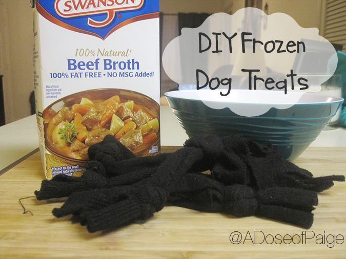 Help With Teething Pups By Making These Easy Frozen Dog Treats Diy Frozen Dog Pet Treats Frozen Dog Treats Frozen Dog Dog Teething Toys