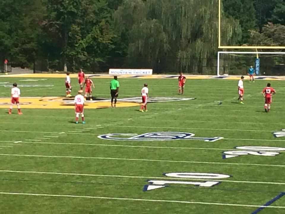 Rocky Top Sports World has great fields to play soccer