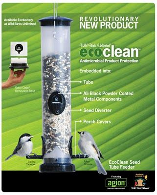 Wild Birds Unlimited New Antimicrobial Bird Feeders Exclusively At Wild Birds Unlimited Wild Birds Bird Feeders Wild Birds Unlimited