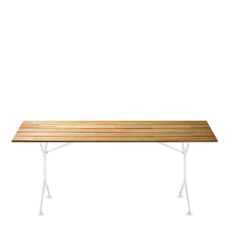 2011: XXII Premio Compasso d'Oro ADI teak table by Alberto Meda  #teak #table #outdoorfurniture #compassodoro