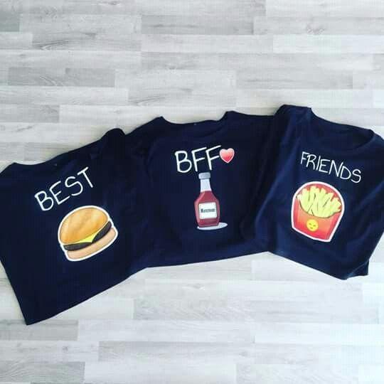 17d406b752a33 Resultado de imagen para camisas de la amistad para tres personas ...