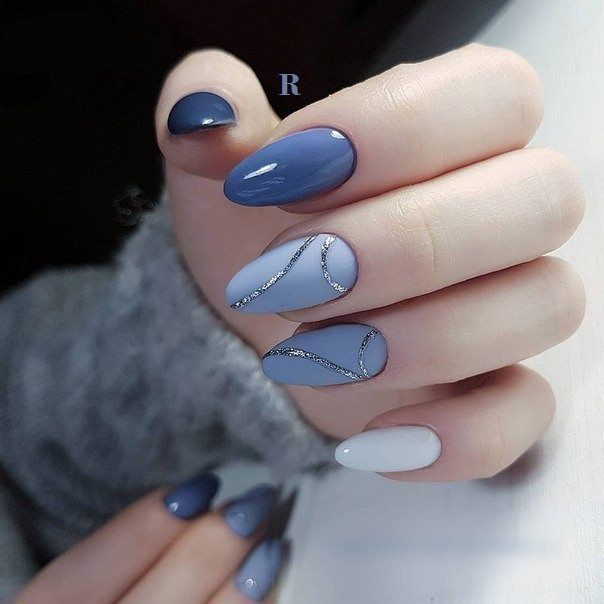 The winter season is ideal to be inventive with winter nail art ...