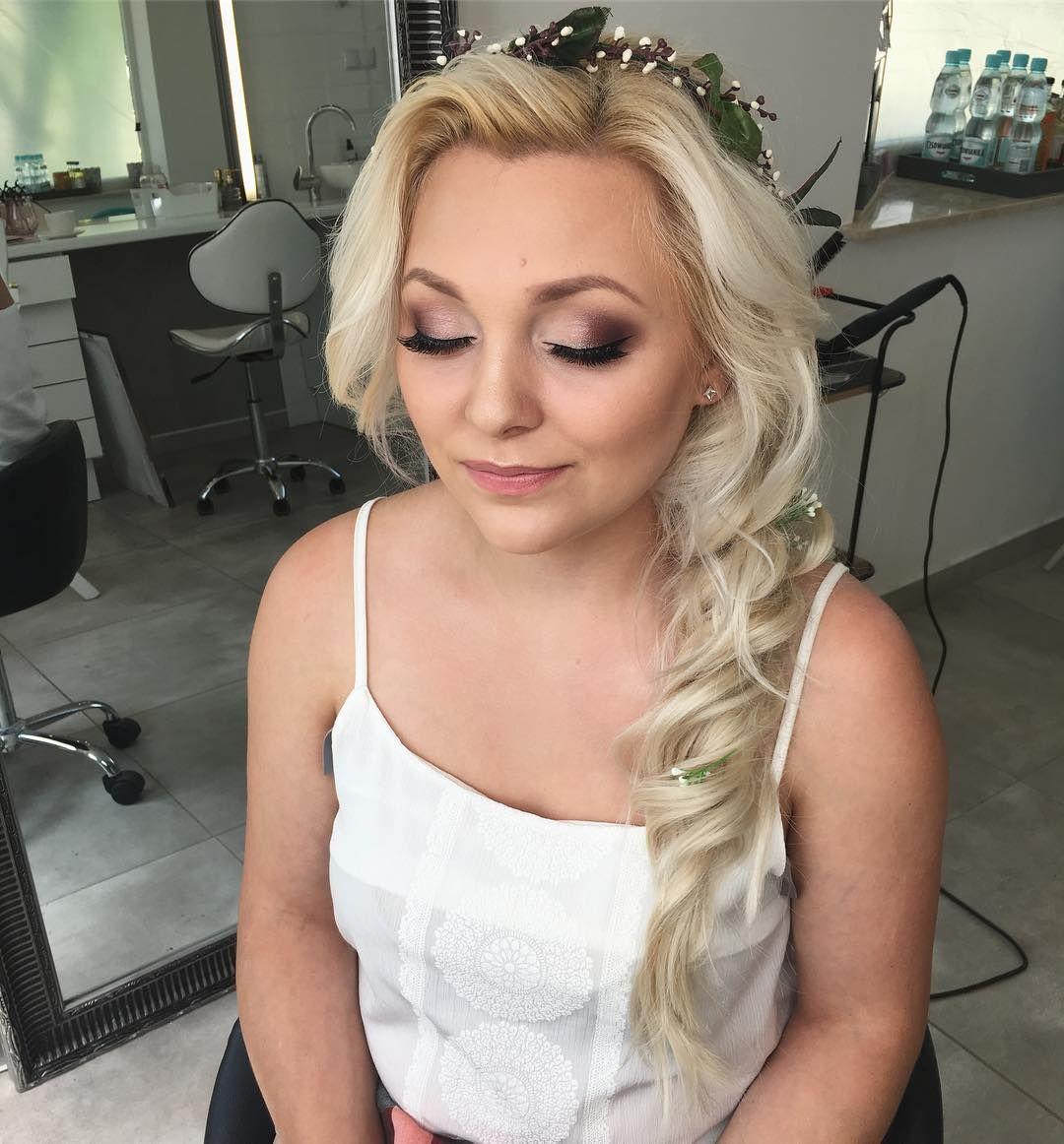 Makijaż I Fryzura Przyszłej Panny Młodej Elsa Makeup