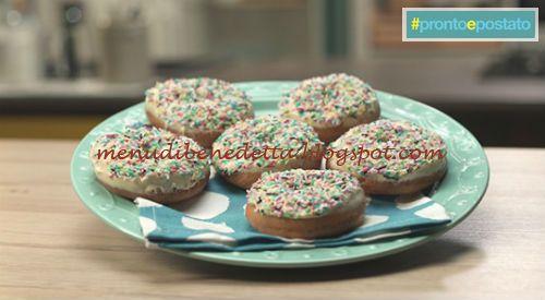 Donuts ricetta Benedetta Parodi
