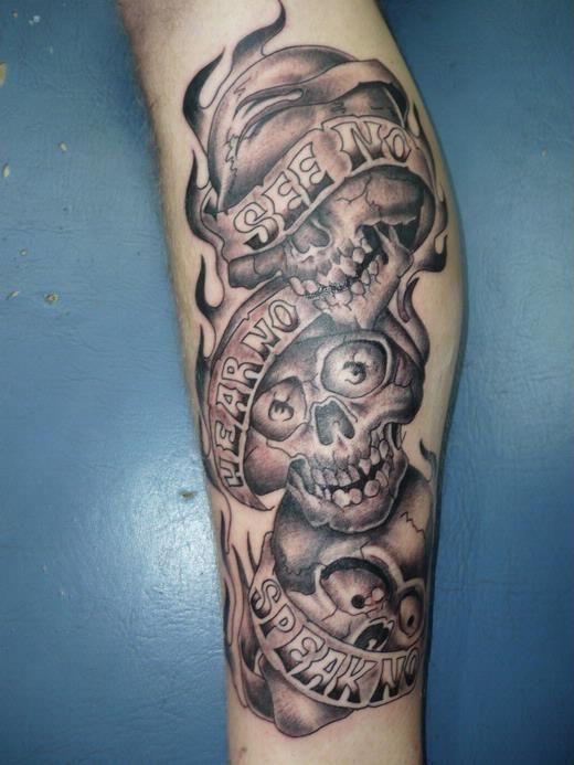 See No Evil Hear No Evil Speak No Evil 28 Hear No Evil See No Evil Speak No Evil Tattoos With Meanings Tattooswin Evil Tattoos Tattoos Evil Tattoo