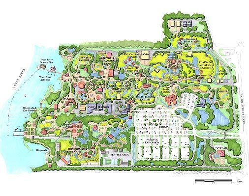 Jacksonville Zoo And Gardens Master Plan Clr Design