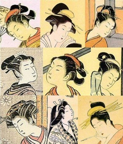 Japanese hairstyles late 1600s through till late 1700s pin it from japanese hairstyles late 1600s through till late 1700s pin it from carden sciox Gallery
