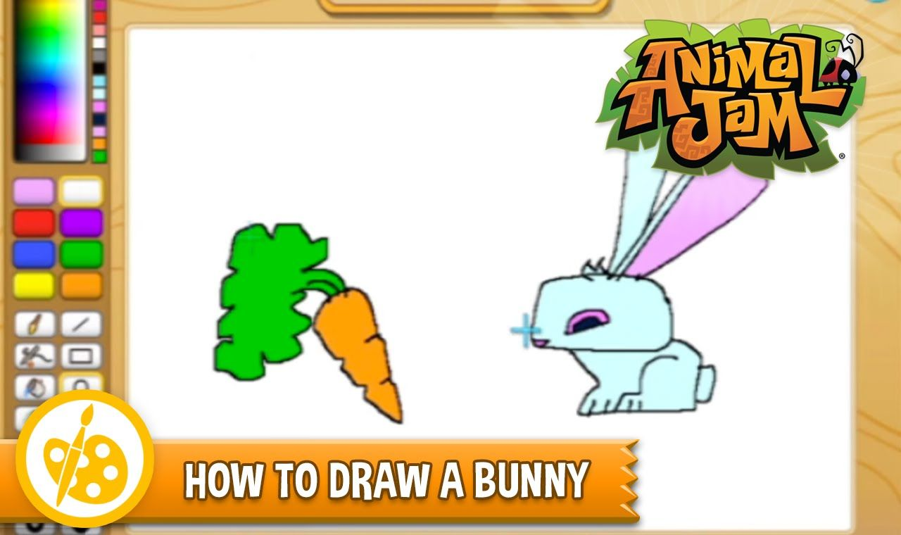 Sketch jam learn how to draw a bunny from animal jam sketch sketch jam learn how to draw a bunny from animal jam ccuart Choice Image