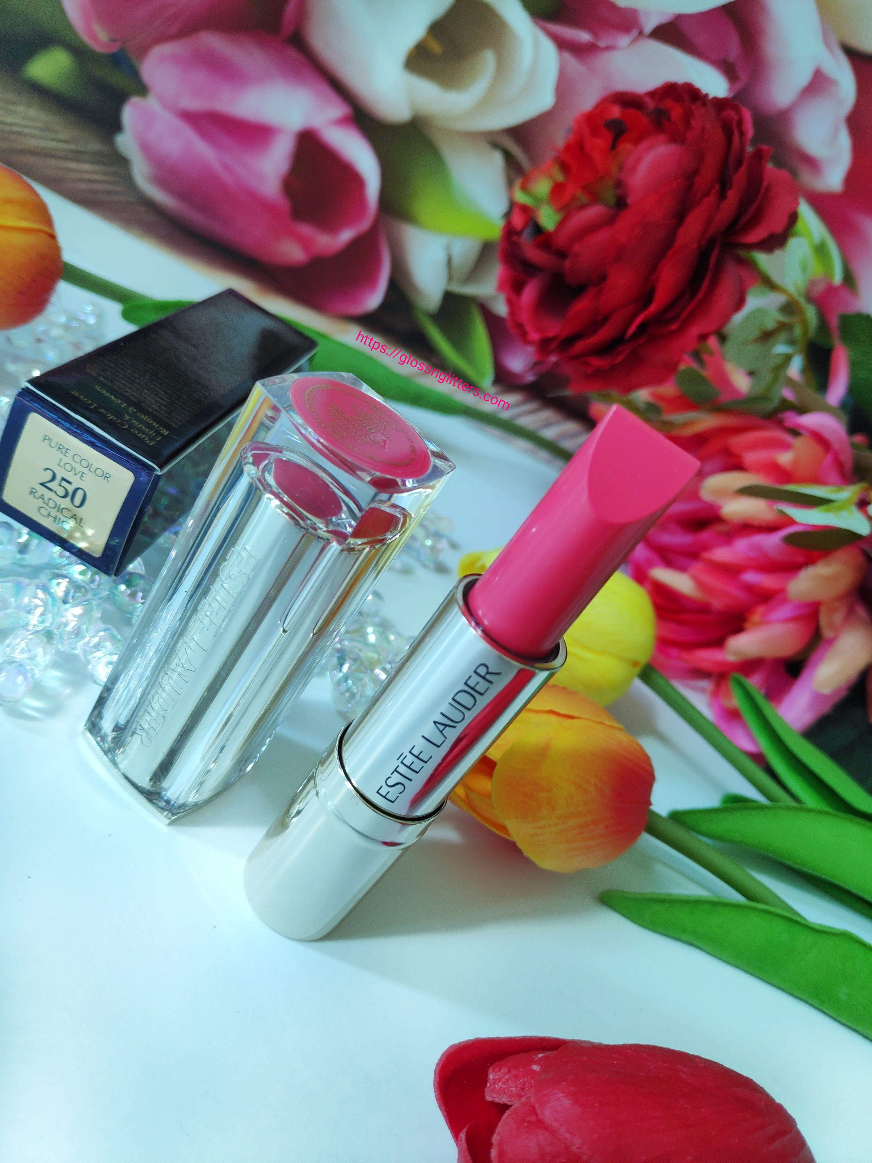 Estée Lauder Pure Color Love Lipstick Review