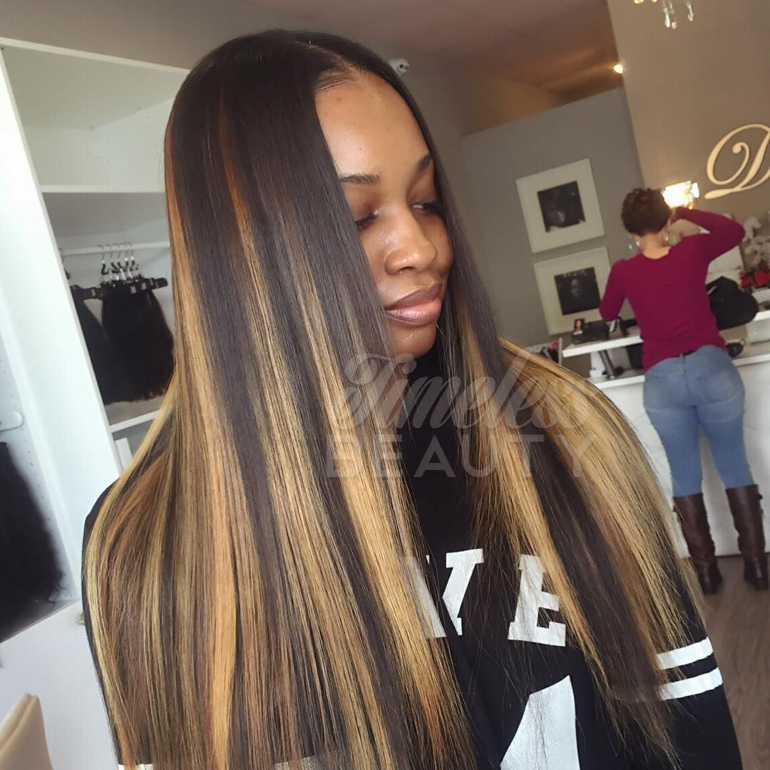 Timelessbeautyhair Traditional Sew In Custom Color Hair