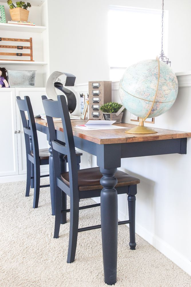 Eclectic Farmhouse Playroom Makeover blesserhousecom