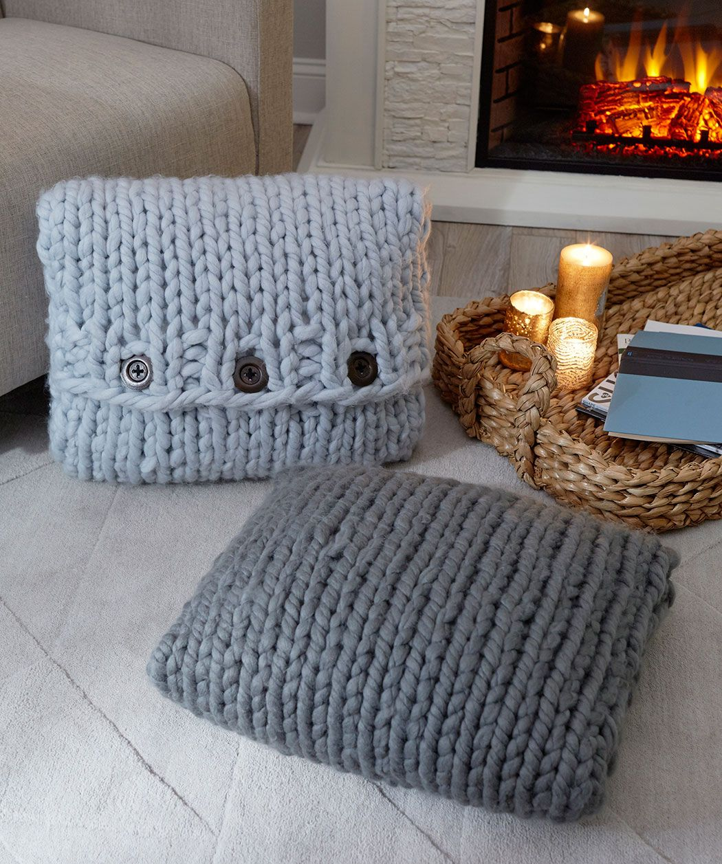 Hygge look book red heart crochet projects pinterest hygge pillows are especially good at helping your body to find the perfect comfort position this pillow pattern is also easy enough to use for knitting to relax bankloansurffo Gallery