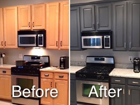 Opaque Cabinet Color Change Nhance Revolutionary Wood Renewal Kitchen Colors Cabinets