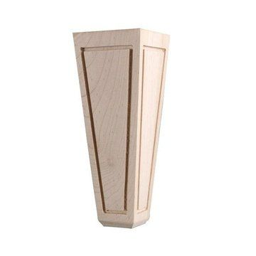 The Legacy Signature 6 Inch Paneled Lawson Leg Is A Clic Tapered Furniture With Distinctive Routed Accent Creating Look