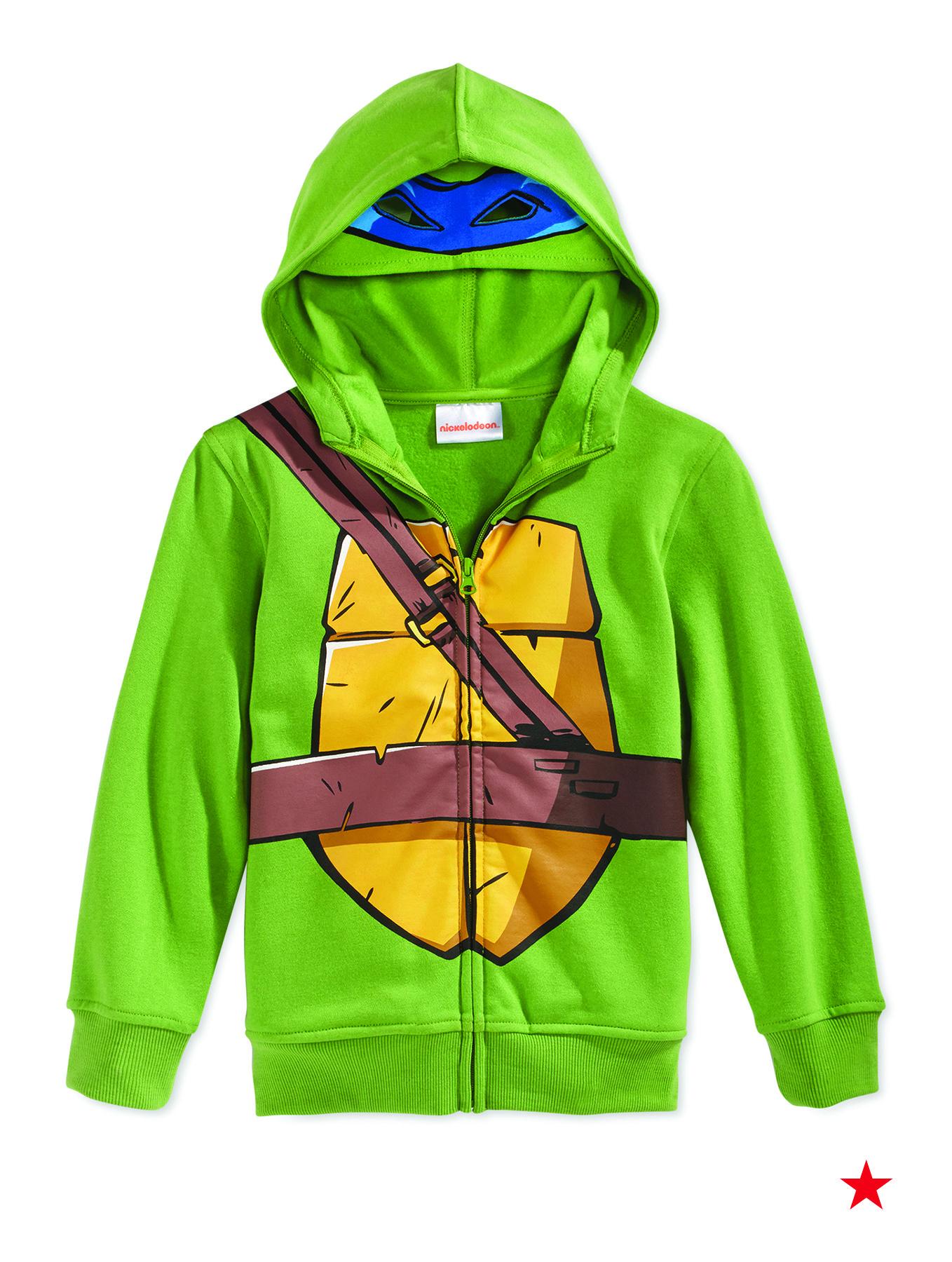 NEW Boys 2p Outfit 2T Teen Mutant Ninja Turtles Hoodie Zip Jacket Pants Set TMNT