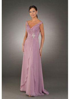 Púrpura vestidos de madrina