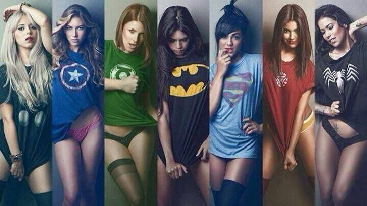 Populaire Las mujeres Marvel  | Frikilandia | Pinterest | Marvel  HI64