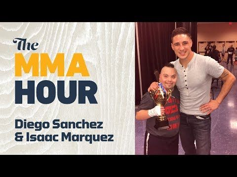 Mma Diego Sanchez Talks Fulfilling Dreams Of Superfan Isaac Marquez A Fighter With Down Syndrome Diego Sanchez Marquez Down Syndrome