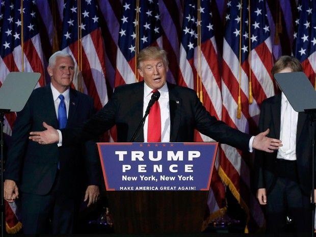 serido noticias: 'Serei presidente para todos os americanos', diz T...