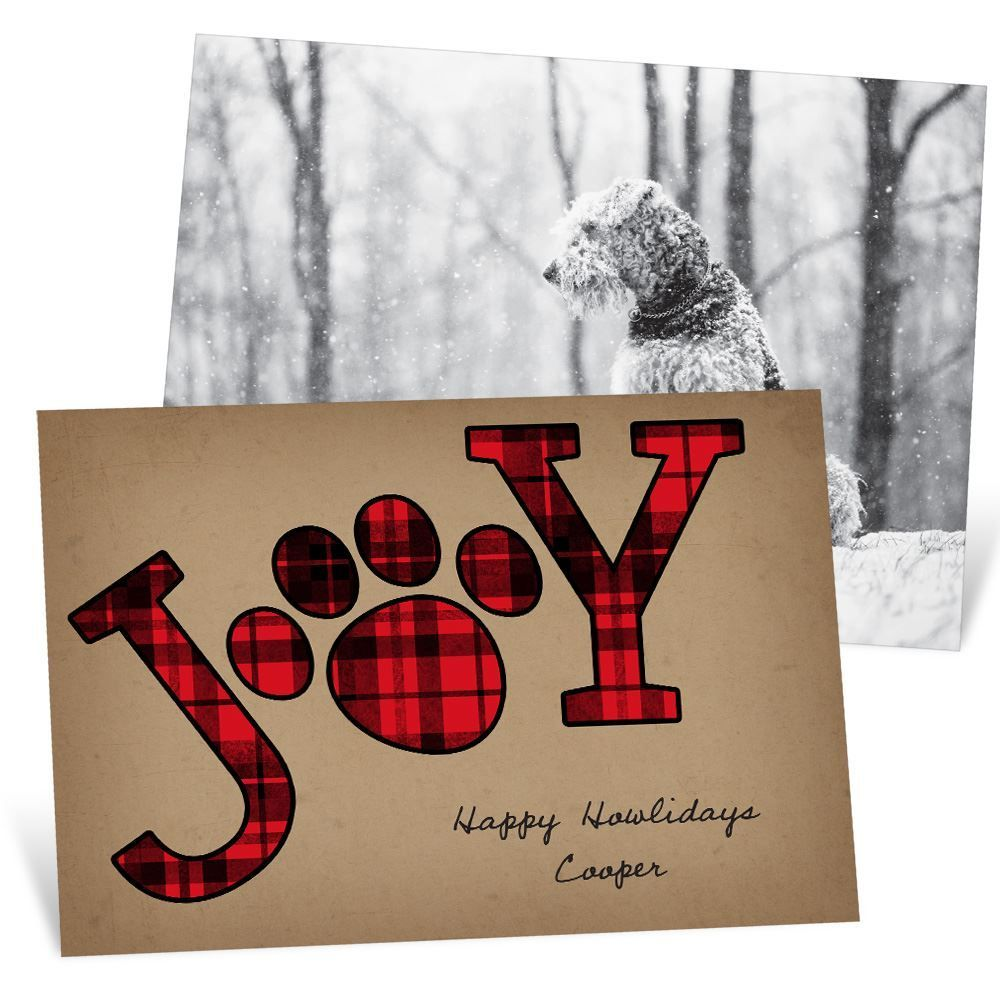 Send a Christmas card from your favorite family member - your dog ...