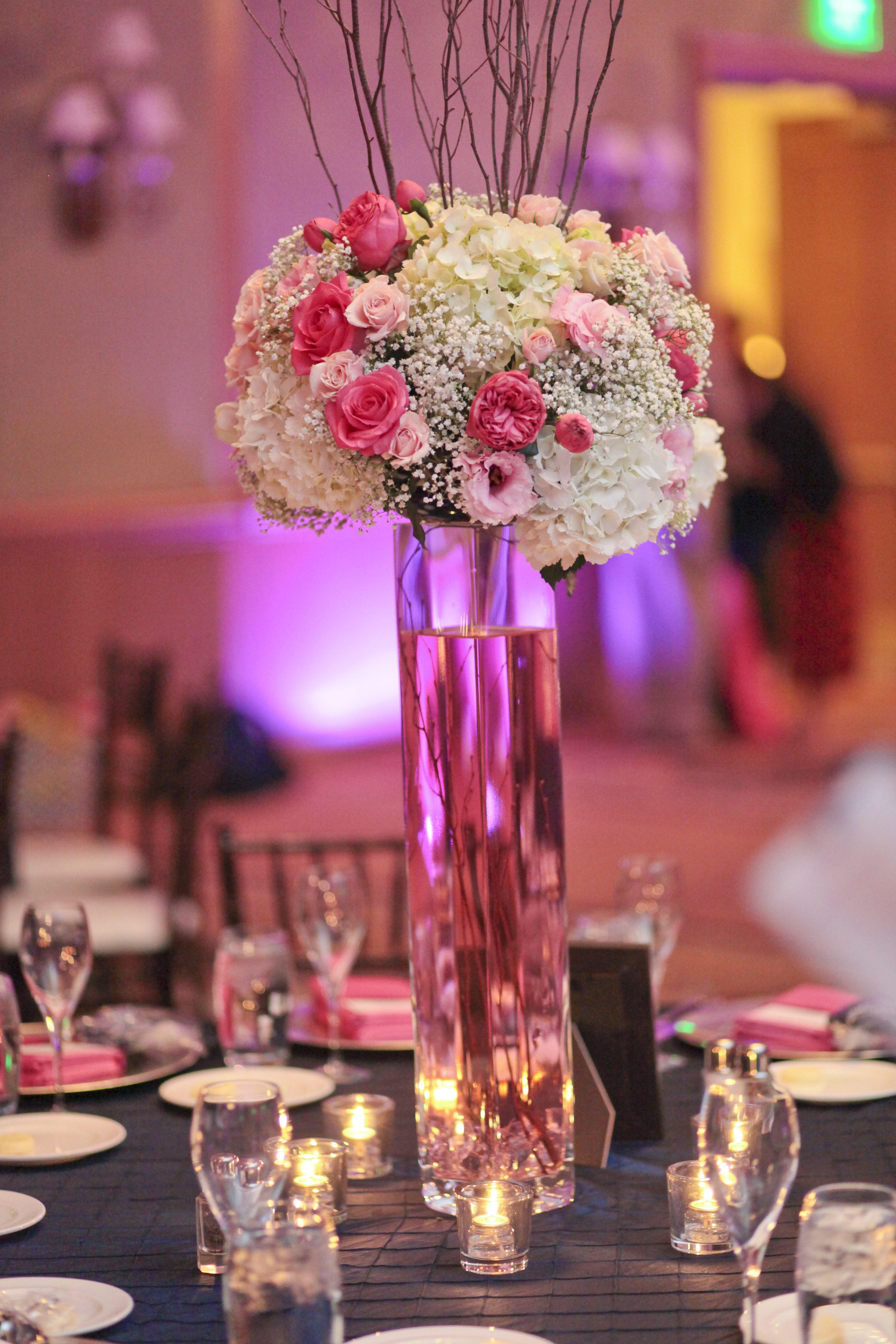 Reception centerpieces | Wedding flowers | Pinterest | Reception ...