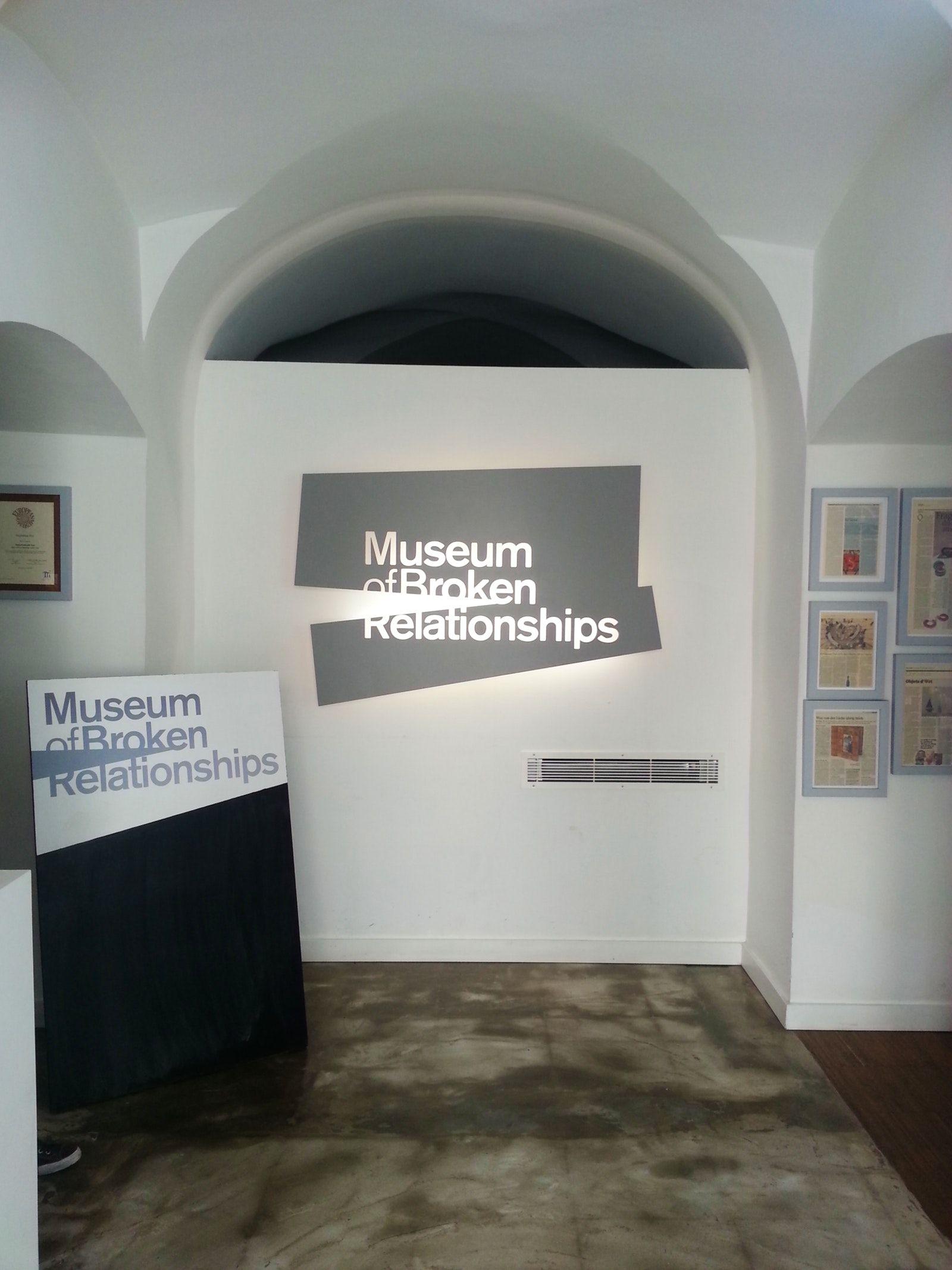 Museum Of Broken Relationships In Zagreb Broken Relationships Relationship Zagreb