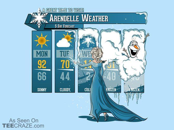 Let It Freeze T-Shirt - http://teecraze.com/let-it-freeze-t-shirt/ -  Designed by Mitch Ludwig    #tshirt #art #fashion #frozen