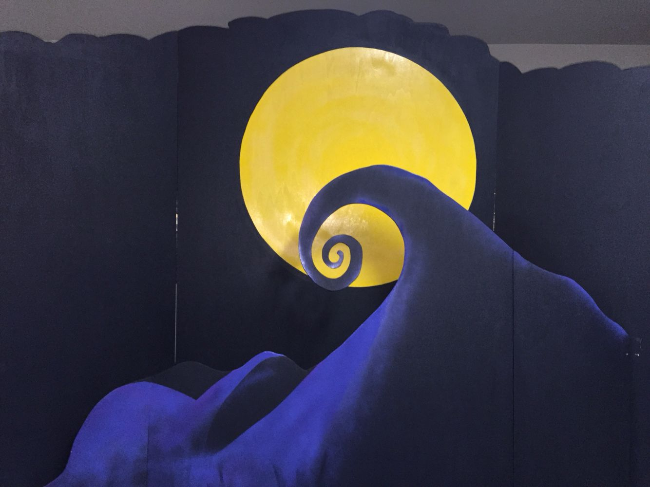 The Nightmare Before Christmas Backdrop Nightmare Before