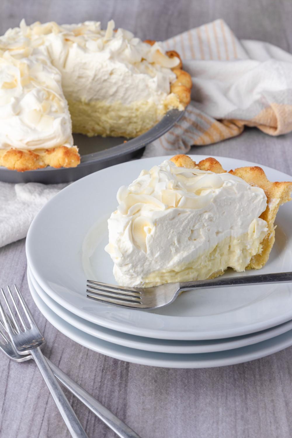 Keto Coconut Cream Pie – Patrick Maese