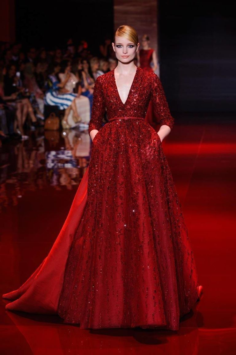 Elie saab fall haute couture collection elie saab fall