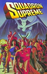 Mark Gruenwald's ashes were mixed with the ink that was used to print the first trade paperback edition of Squadron Supreme