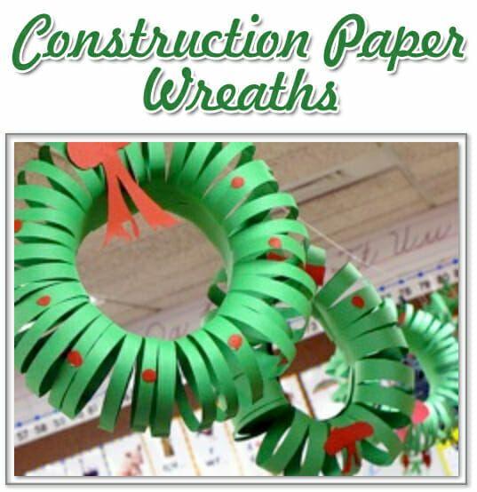Christmas Wreath Craft - The Activity Mom