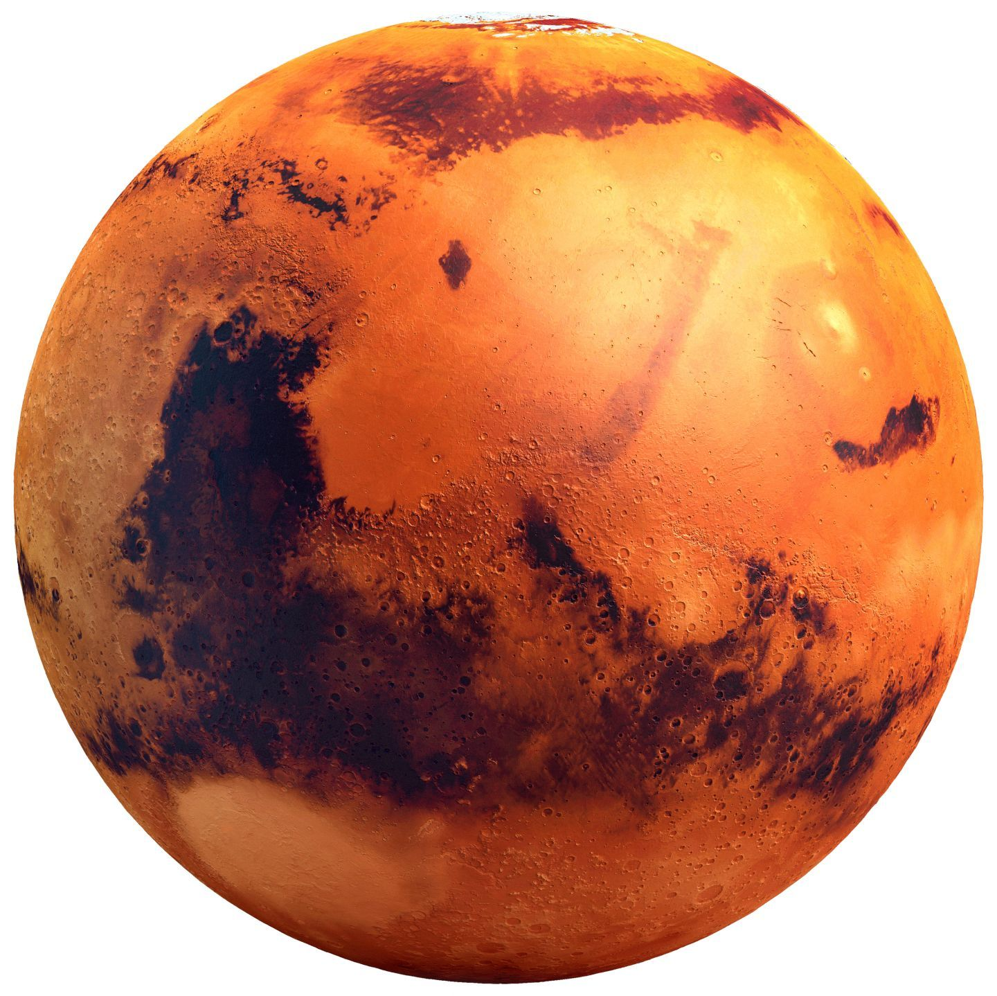 printable map of planet mars - photo #33