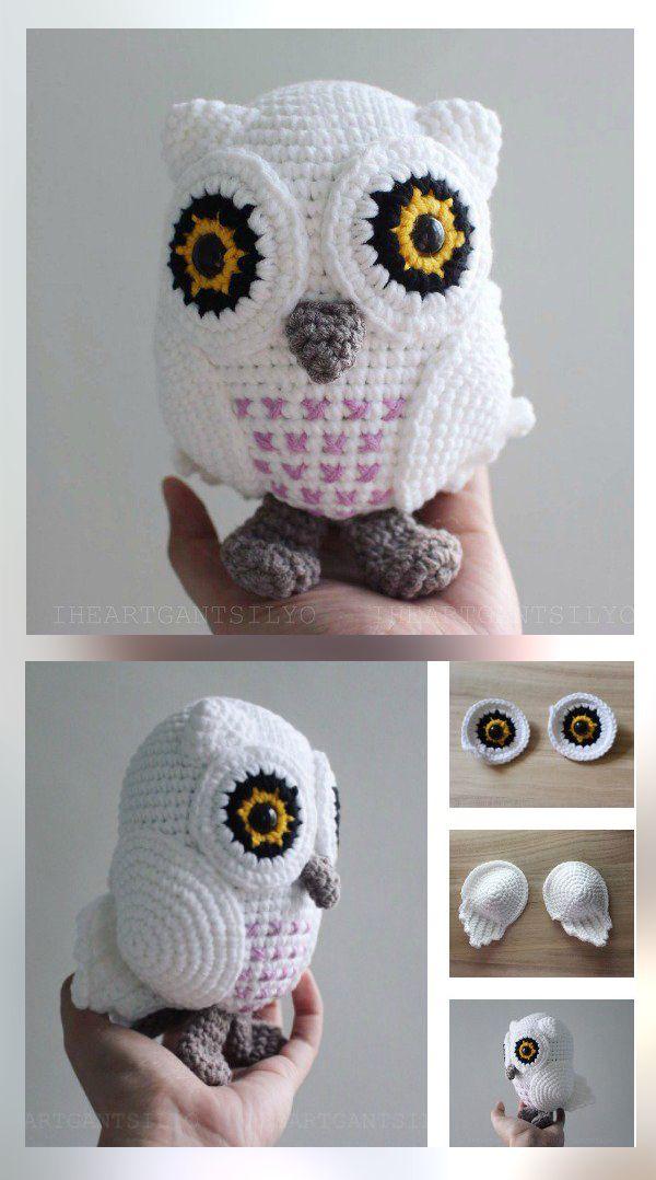 10 Free Crochet Amigurumi Patterns | Eule, Häckeln und Häkeln