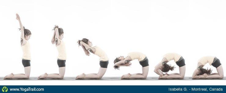 Yoga Pose Uploaded By Isabella Gadbois Kapotasana Wellness Yoga Yoga Poses
