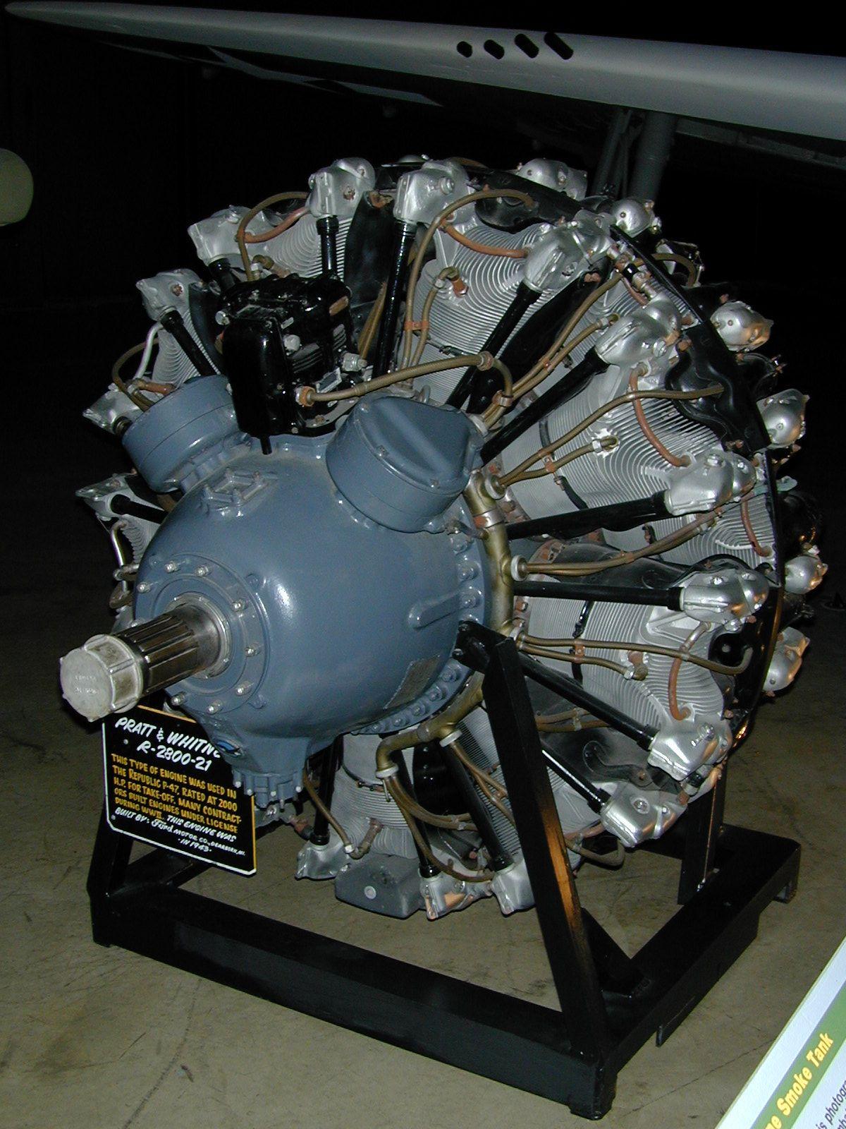 Pratt & Whitney R-2800 Double Wasp - Wikipedia   Aircraft ...