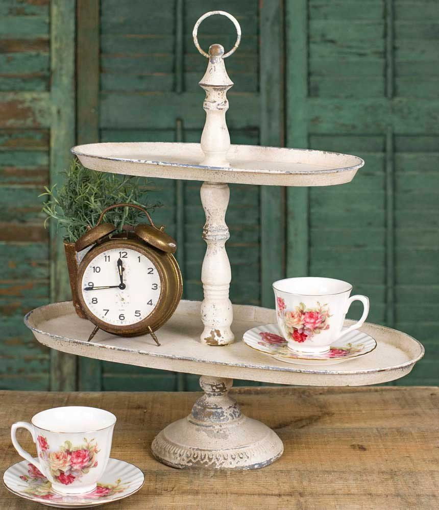 This Tiered Tray Would Have Been Right At Home In The Victorian Era 19 Wide X 10 Deep X 20 Tall Ships Assembled Idee