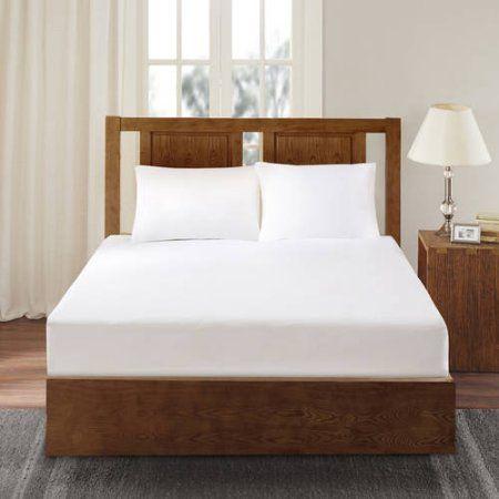 Comfort Classics 3M Scotchgard Mattress Protector, White | Bedding ...