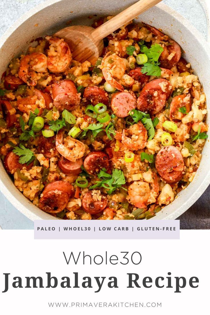 Whole30 Jambalaya
