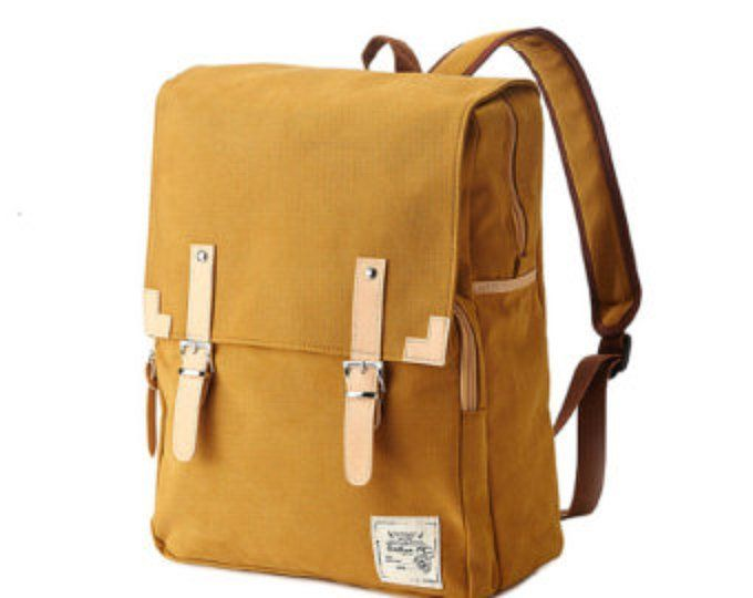 aee6d19dc 10% off - Tidy Urban Cotton Backpack (Mustard) 75.9->68usd в 2019 г ...