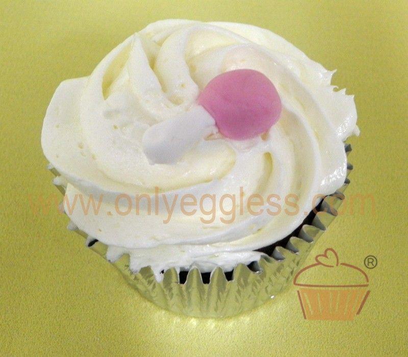 C967 -  Pink Rattle Cupcake