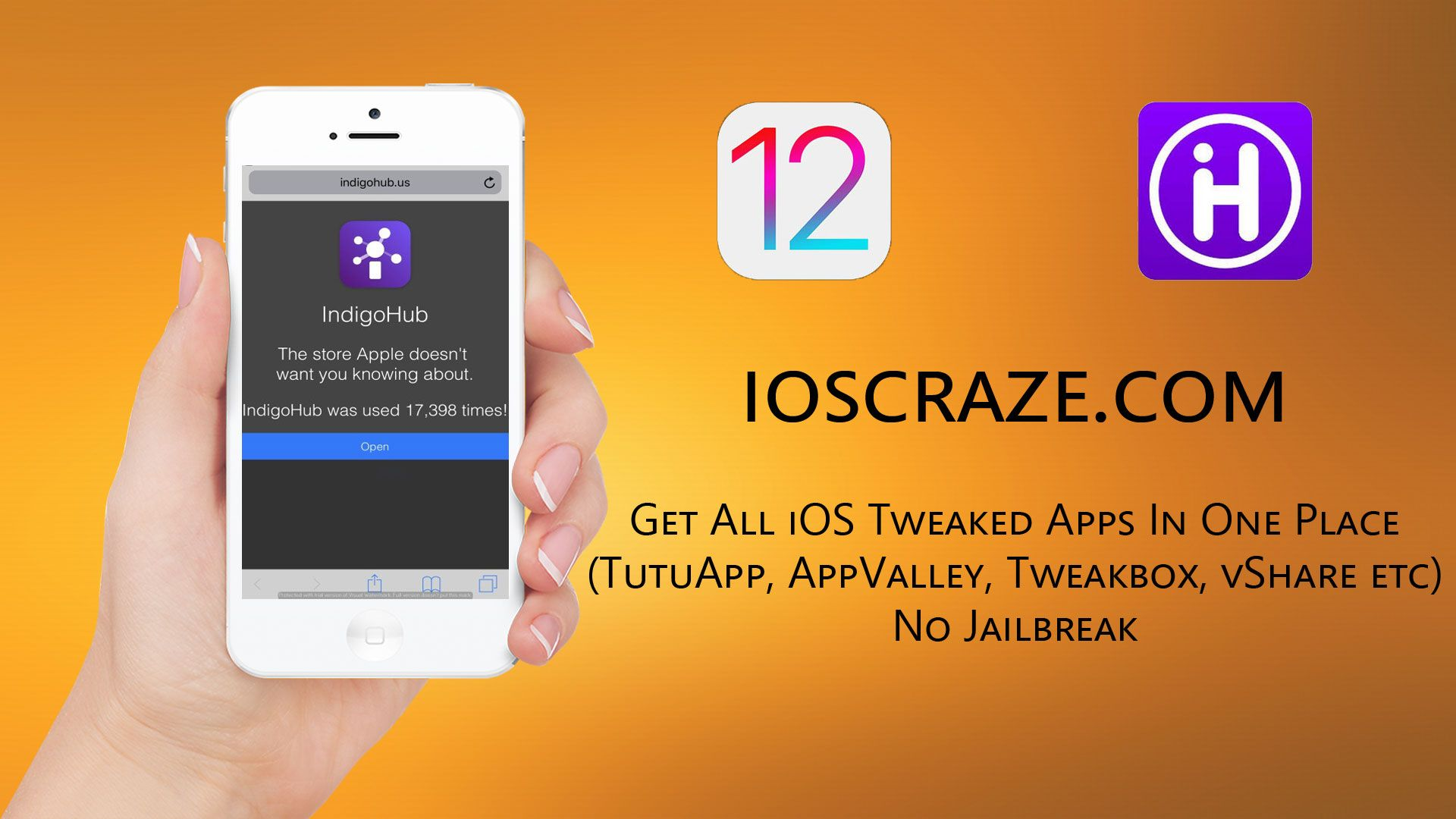 How to get all iOS tweaked apps in one App without jailbreak