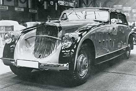 1936 maybach zeppelin   die maybach stromlinie   autos