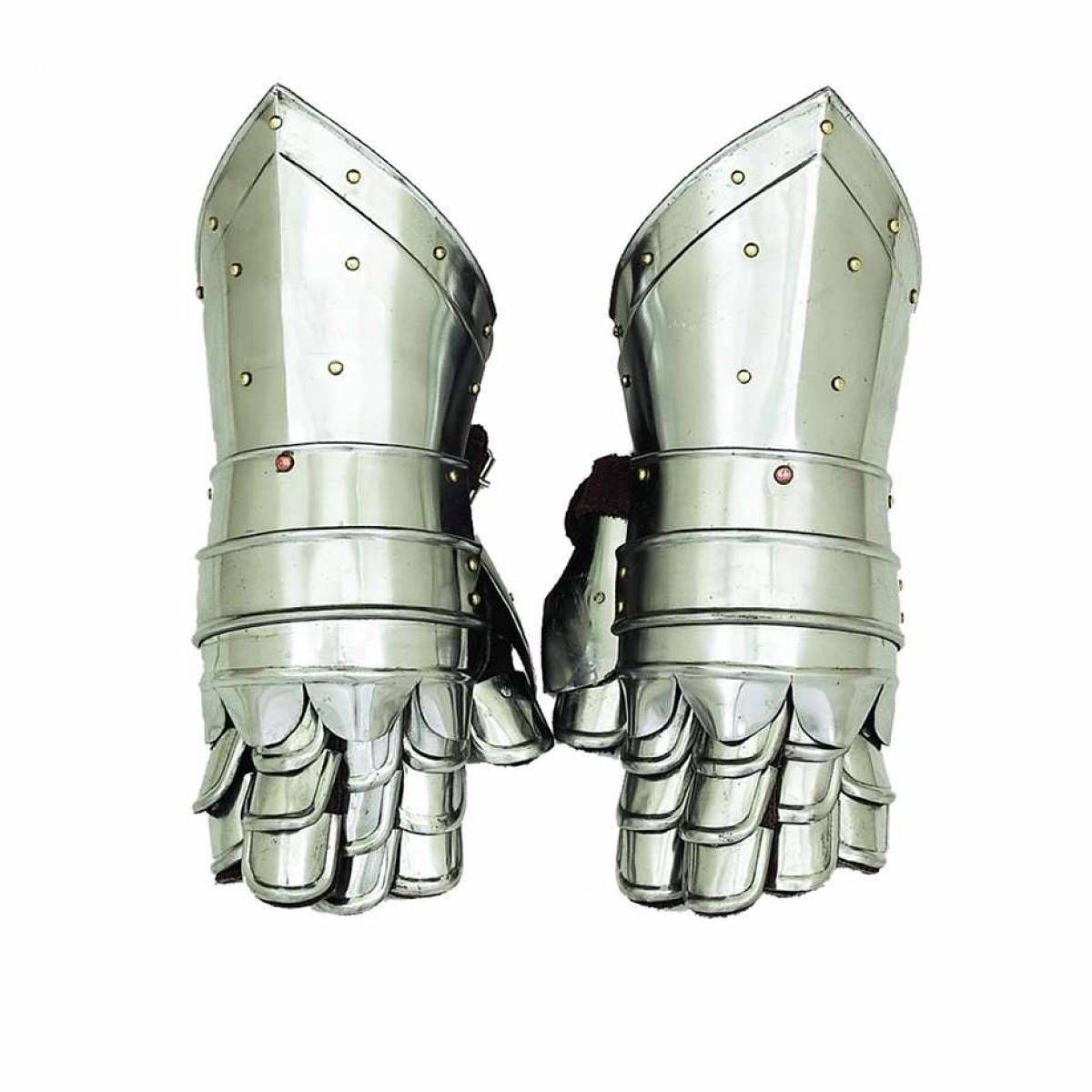 Woodland Imports Metal Armour Hand Gloves - 36302 for the knight in shining armor $80.
