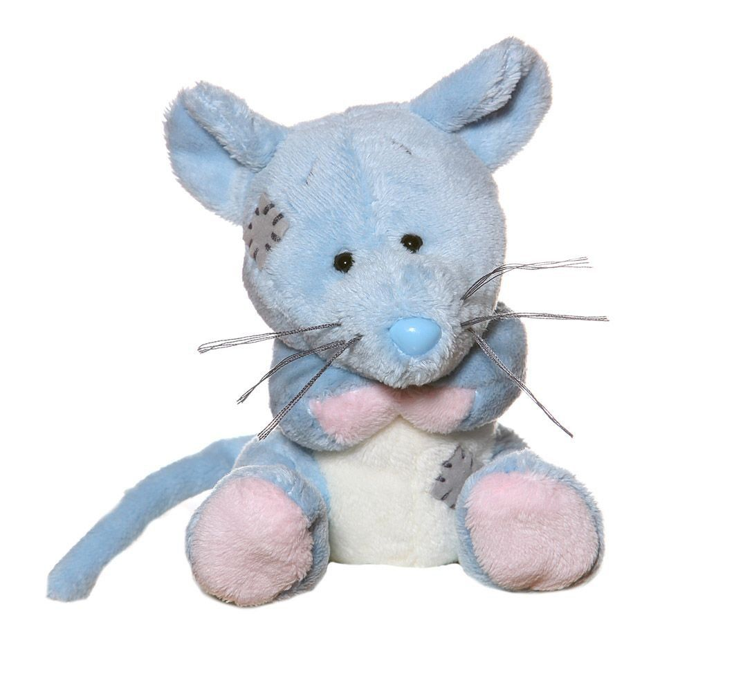 Amazon Com Tatty Teddy My Blue Nose Friend Field Mouse Toys