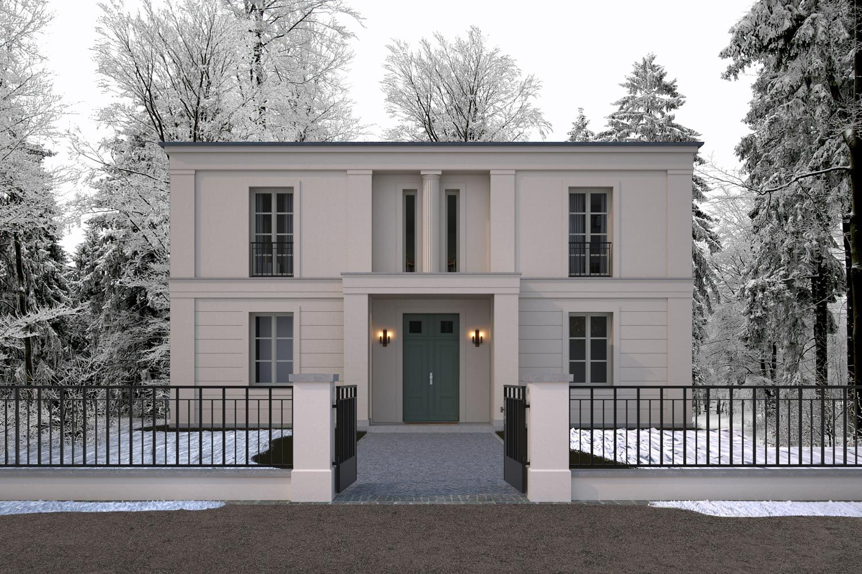 wohnhaus in klassisch tradtionellem baustil villa im parkgrundst ck vogel cg architekten. Black Bedroom Furniture Sets. Home Design Ideas